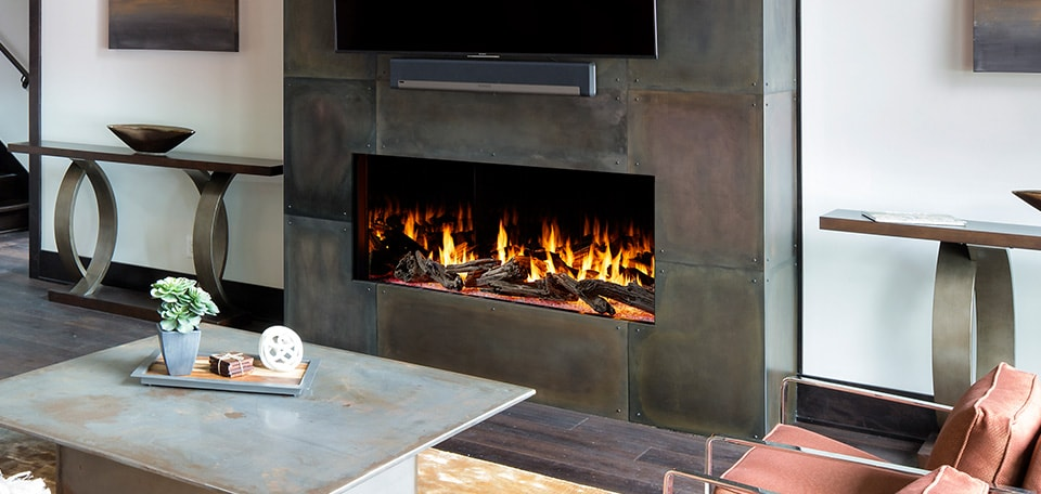 Heat & Glo Foundations Single-Sided Gas Fireplaces