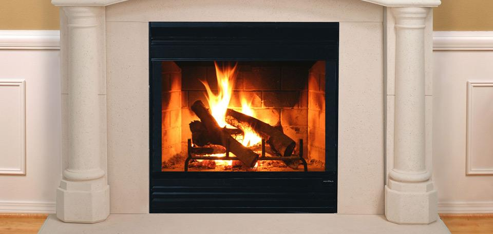 Heat & Glo Energy Master Wood Fireplace
